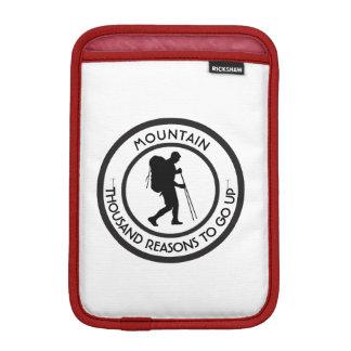 Mountain climbing iPad mini sleeve