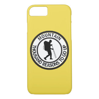 Mountain climbing iPhone 8/7 case