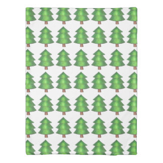 Mountain Climbing Outdoor Camping Pine Tree Duvet