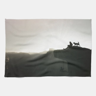 Mountain climbing Yosemite motivation and humor Towels