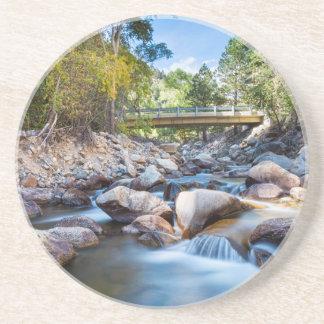 Mountain Creek Bridge Beverage Coaster