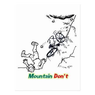 Mountain Don't Postcard