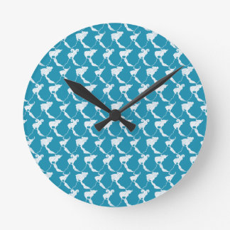 Mountain Dreaming Round Clock