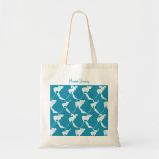 Mountain Dreaming Wedding Favors in Teal Tote Bag