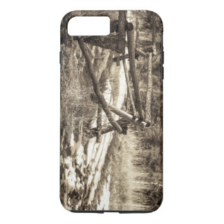 Mountain Fence iPhone 7 Plus Case
