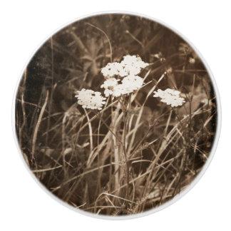 Mountain Flowers Ceramic Pull Ceramic Knob