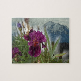Mountain Flowers Jigsaw Puzzle