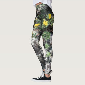 Mountain Flowers Leggings