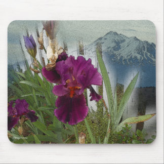 Mountain Flowers Mouse Pad