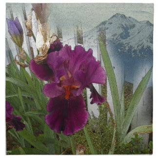 Mountain Flowers Napkin
