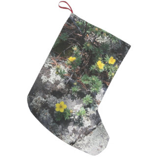Mountain Flowers Small Christmas Stocking