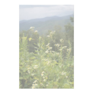 Mountain Flowers Stationery Paper