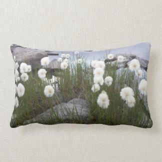 Mountain Flowers Switzerland Lumbar Pillow