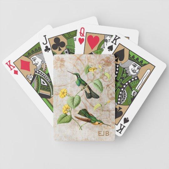 Mountain Gem Hummingbird Playing Cards