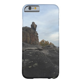 Mountain Girl Sitting On The Edge Barely There iPhone 6 Case