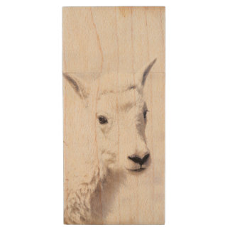 Mountain Goat Baby USB Flash Drive