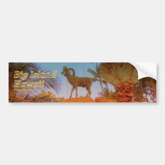 Mountain Goat - Hawaii Skateboard Sticker Bumper Sticker