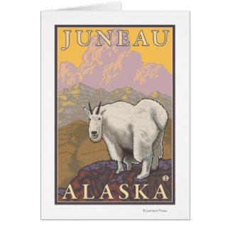 Mountain Goat - Juneau, Alaska Card