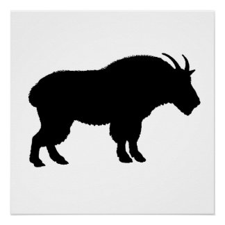 mountain goat perfect poster