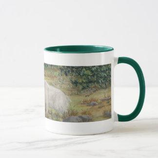 Mountain Goats Wildlife Art Mug