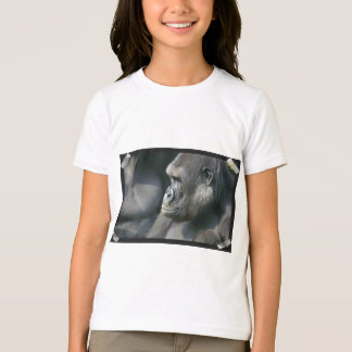 Mountain Gorilla Girl's T-Shirt