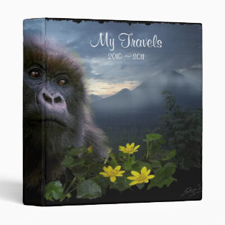 MOUNTAIN GORILLA Travel Memories Binder