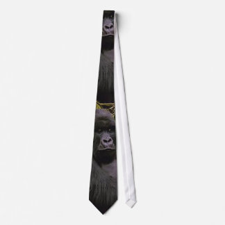MOUNTAIN GORILLA WILDLIFE TIE