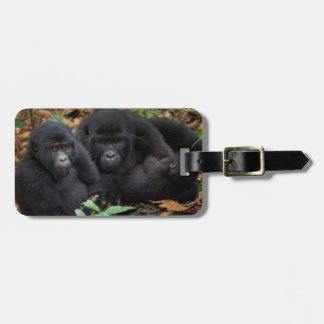 Mountain Gorillas, Volcanoes National Park Luggage Tag