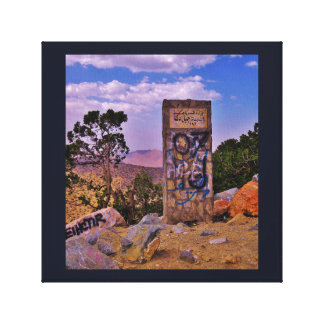 Mountain Grafitti Canvas Print