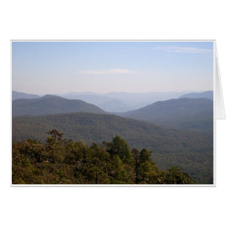 Mountain Haze Card
