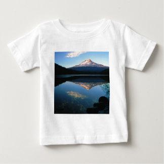 Mountain Hood Trillium Lake Oregon Baby T-Shirt