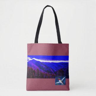 Mountain Hummingbird Tote Baag