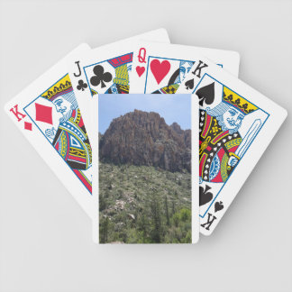 Mountain in Red Rock NV Bicycle Playing Cards