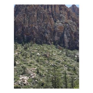 Mountain in Red Rock NV Customized Letterhead