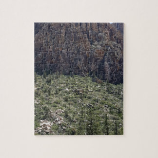 Mountain in Red Rock NV Jigsaw Puzzle