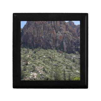 Mountain in Red Rock NV Keepsake Boxes