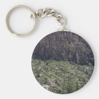 Mountain in Red Rock NV Keychain