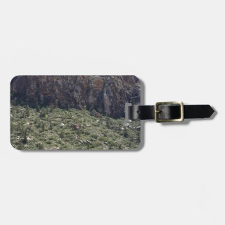 Mountain in Red Rock NV Luggage Tag
