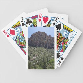 Mountain in Red Rock NV Poker Deck