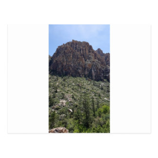 Mountain in Red Rock NV Postcard