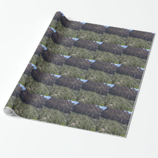 Mountain in Red Rock NV Wrapping Paper