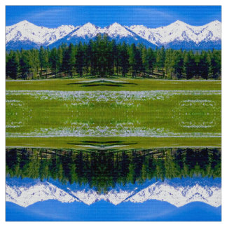 Mountain Iris Fabric
