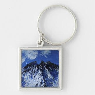 Mountain keyring