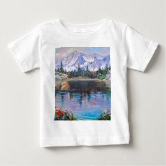 Mountain lake baby T-Shirt