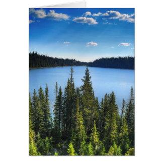 Mountain Lake Card