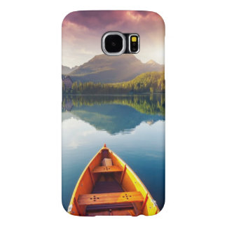 Mountain lake in National Park High Tatra 3 Samsung Galaxy S6 Case