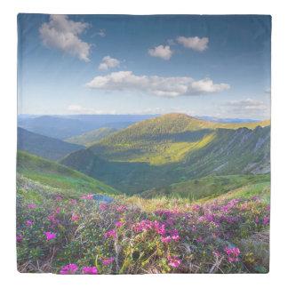 Mountain Landscape (2 sides) Queen Duvet Cover