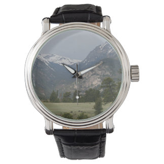 Mountain Landscape Men's Watch