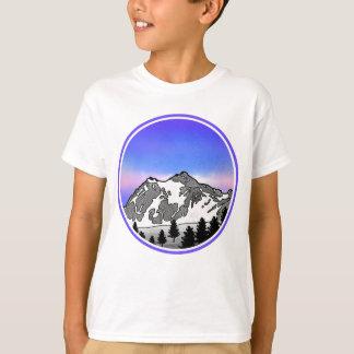 Mountain Landscape Mt Baker T-Shirt
