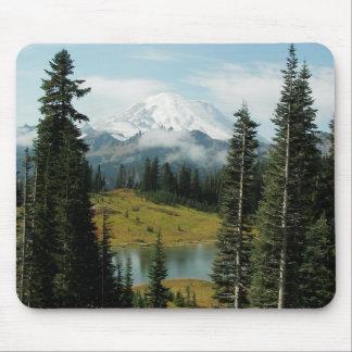 Mountain Landscape Photo Mouse Pad
